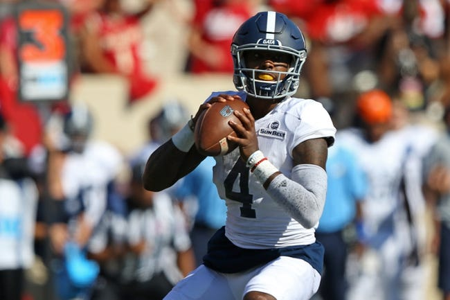 Arkansas State at Georgia Southern - 10/4/17 College Football Pick, Odds, and Prediction