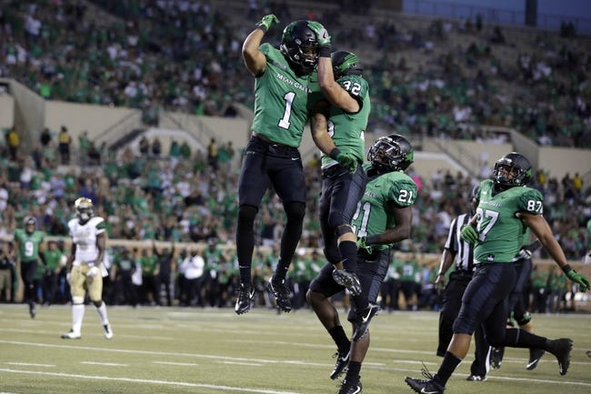 Southern Miss vs. North Texas - 9/30/17 College Football Pick, Odds, and Prediction