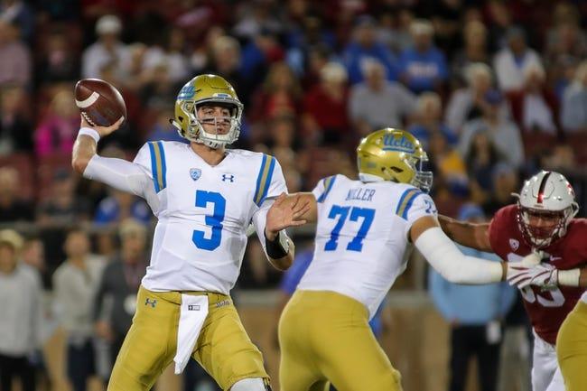 UCLA vs. Colorado - 9/30/17 College Football Pick, Odds, and Prediction