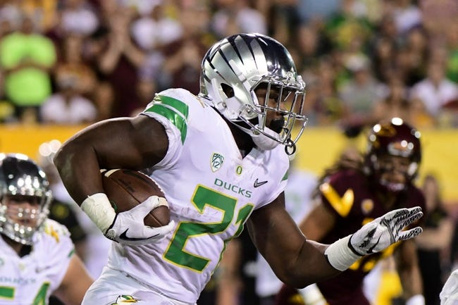 Oregon vs. California - 9/30/17 College Football Pick, Odds, and Prediction