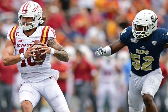 Iowa State vs. Akron - 9/22/18 College Football Pick, Odds, and Prediction