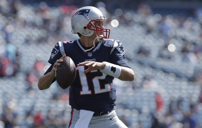 New England Patriots vs. Carolina Panthers - 10/1/17 NFL Pick, Odds, and Prediction