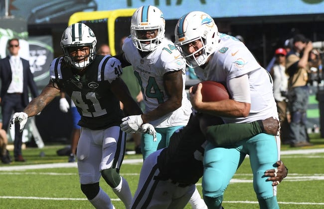New York Jets at Miami Dolphins - 10/22/17 NFL Pick, Odds, and Prediction