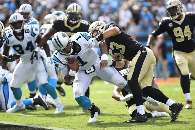 New Orleans Saints vs. Carolina Panthers - 12/3/17 NFL Pick, Odds, and Prediction