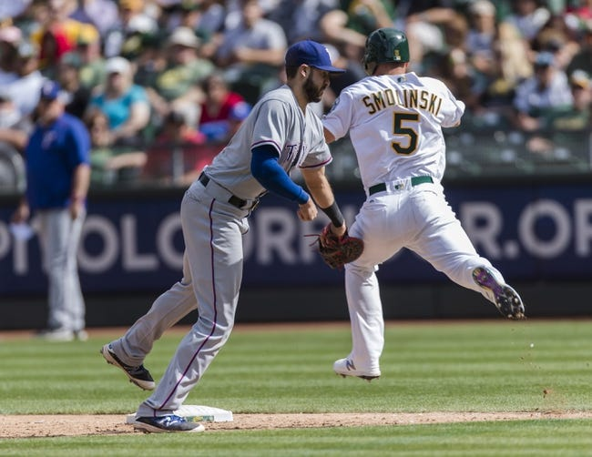 Texas Rangers vs. Oakland Athletics - 9/28/17 MLB Pick, Odds, and Prediction