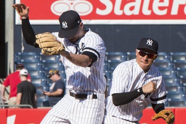 Kansas City Royals vs. New York Yankees - 5/18/18 MLB Pick, Odds, and Prediction