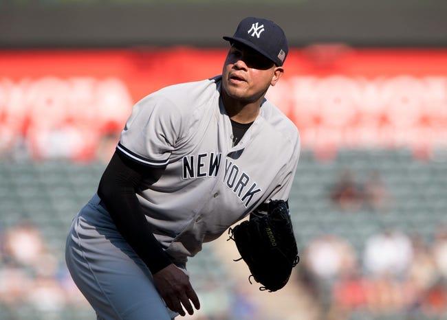 Texas Rangers vs. New York Yankees - 5/21/18 MLB Pick, Odds, and Prediction