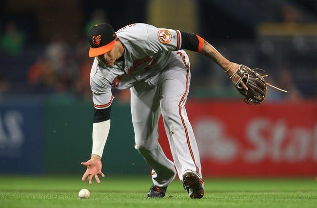 Pittsburgh Pirates vs. Baltimore Orioles - 9/27/17 MLB Pick, Odds, and Prediction