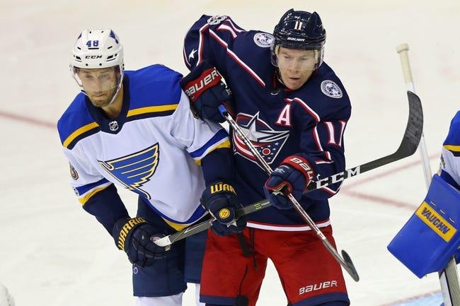 NHL | Columbus Blue Jackets (7-3-0) at St. Louis Blues (8-2-1)