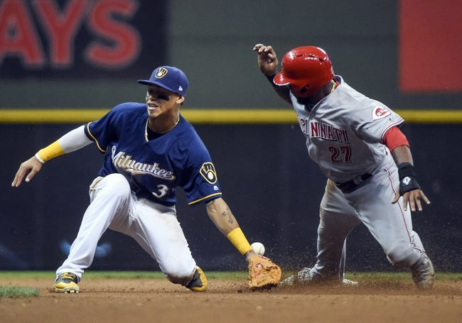 Milwaukee Brewers vs. Cincinnati Reds - 9/27/17 MLB Pick, Odds, and Prediction