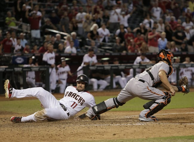San Francisco Giants vs. Arizona Diamondbacks - 4/9/18 MLB Pick, Odds, and Prediction