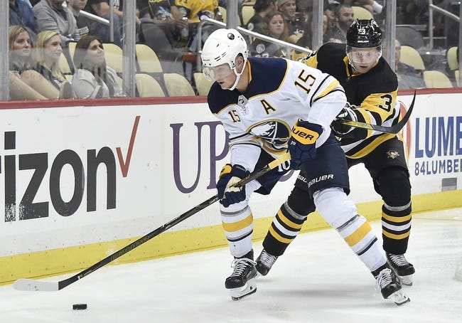 Pittsburgh Penguins vs. Buffalo Sabres - 11/14/17 NHL Pick, Odds, and Prediction