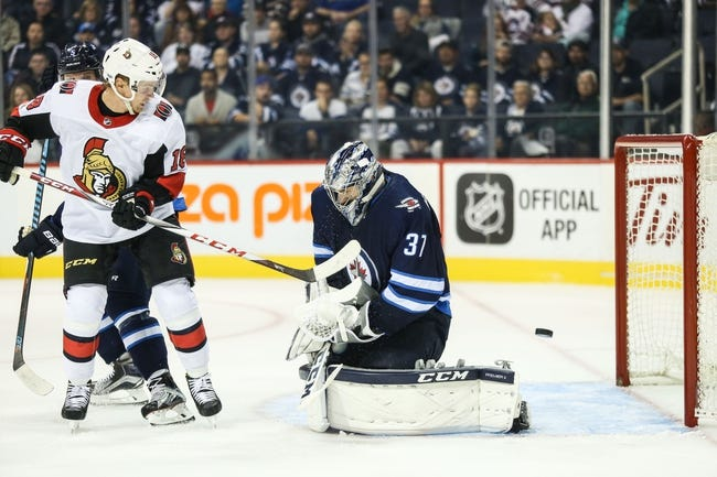 Winnipeg Jets vs. Ottawa Senators - 12/3/17 NHL Pick, Odds, and Prediction