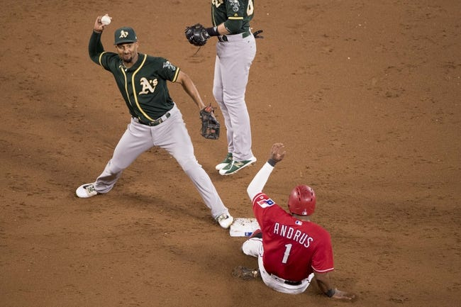 Texas Rangers vs. Oakland Athletics - 9/29/17 MLB Pick, Odds, and Prediction