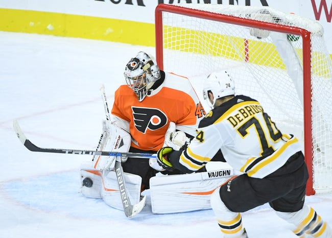 Philadelphia Flyers vs. Boston Bruins - 12/2/17 NHL Pick, Odds, and Prediction