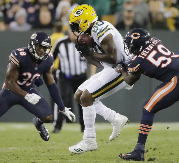 Green Bay Packers at Chicago Bears - 11/12/17 NFL Pick, Odds, and Prediction