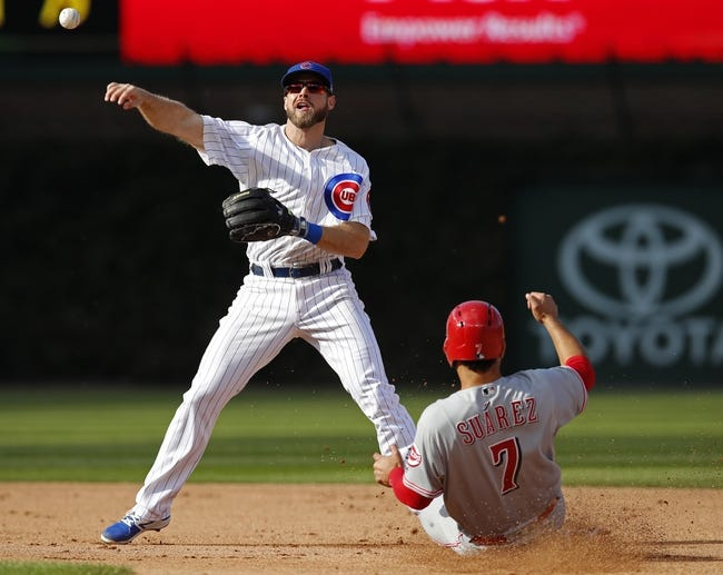 Chicago Cubs vs. Cincinnati Reds - 9/30/17 MLB Pick, Odds, and Prediction