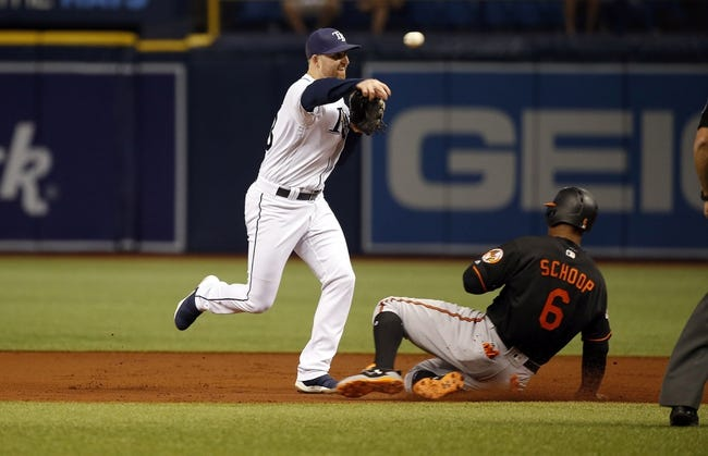 Tampa Bay Rays vs. Baltimore Orioles - 10/1/17 MLB Pick, Odds, and Prediction