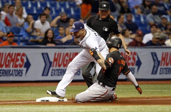 Tampa Bay Rays vs. Baltimore Orioles - 9/30/17 MLB Pick, Odds, and Prediction