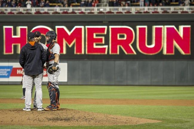 Minnesota Twins vs. Detroit Tigers - 9/30/17 MLB Pick, Odds, and Prediction