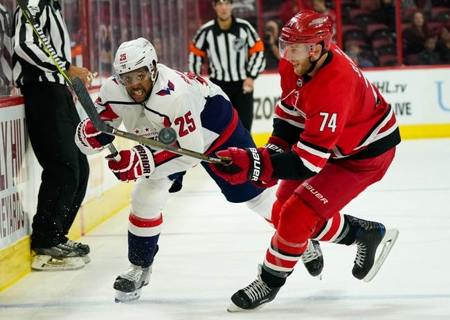 Carolina Hurricanes vs. Washington Capitals - 1/2/18 NHL Pick, Odds, and Prediction