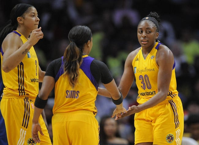 WNBA | Dallas Wings (6-6) vs. Los Angeles Sparks (10-3)
