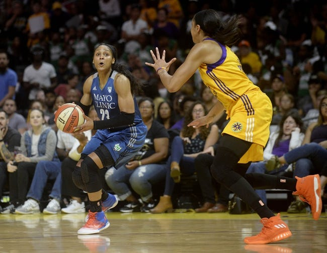 Minnesota Lynx vs. Los Angeles Sparks - 10/1/17 WNBA Pick, Odds, and Prediction