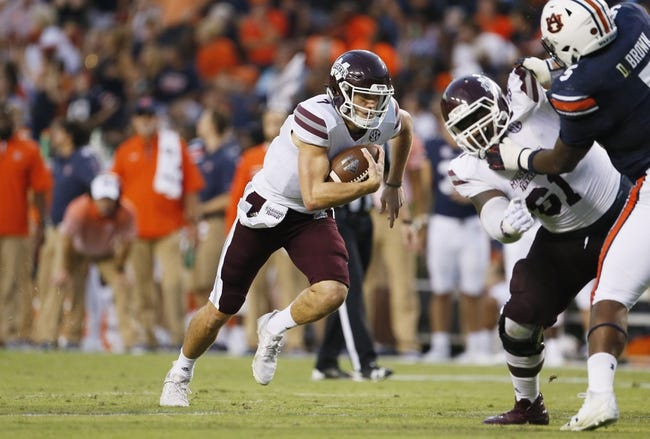 Mississippi State vs. BYU - 10/14/17 College Football Pick, Odds, and Prediction