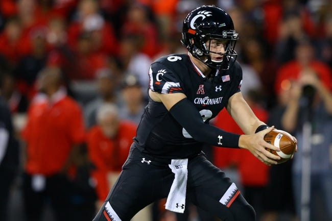 Cincinnati vs. UCF - 10/7/17 College Football Pick, Odds, and Prediction
