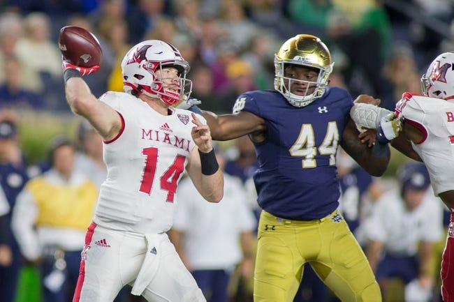Kent State vs. Miami-OH - 10/14/17 College Football Pick, Odds, and Prediction