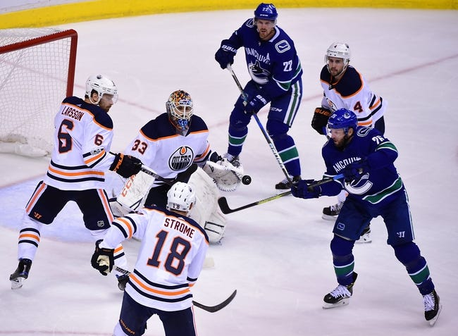 Vancouver Canucks vs. Edmonton Oilers - 10/7/17 NHL Pick, Odds, and Prediction
