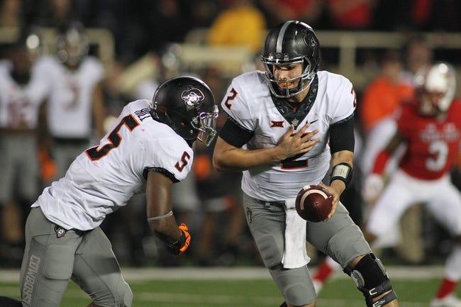 Oklahoma State vs. Kansas State - 11/18/17 College Football Pick, Odds, and Prediction