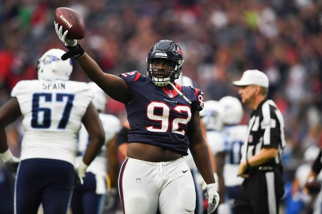 Houston Texans at Tennessee Titans - 12/3/17 NFL Pick, Odds, and Prediction