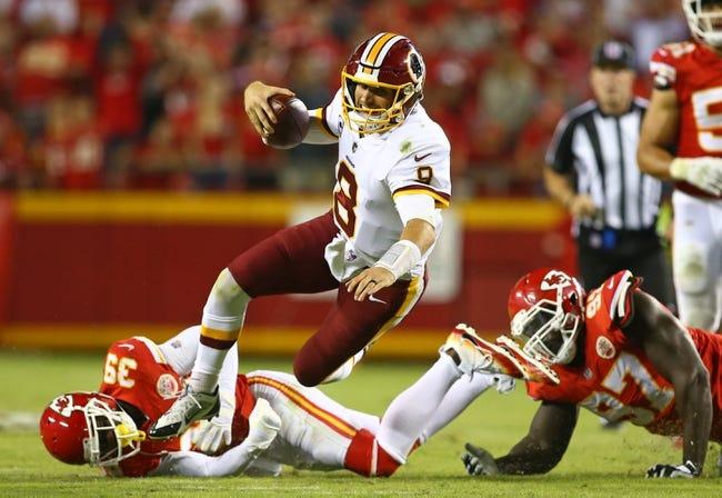 Washington Redskins vs. San Francisco 49ers - 10/15/17 NFL Pick, Odds, and Prediction