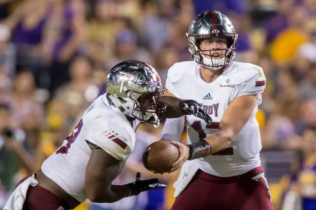 South Alabama at Troy - 10/11/17 College Football Pick, Odds, and Prediction