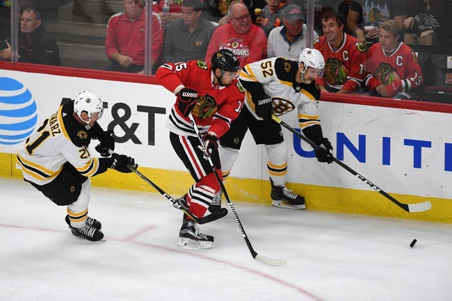 Boston Bruins vs. Chicago Blackhawks - 3/10/18 NHL Pick, Odds, and Prediction