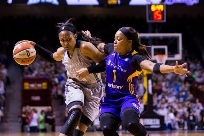 WNBA | Minnesota Lynx (18-16) vs. Los Angeles Sparks (19-15)