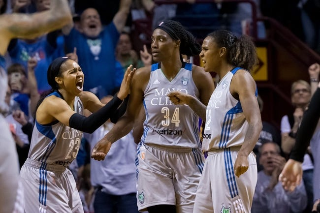 Minnesota Lynx vs. Phoenix Mercury - 6/1/18 WNBA Pick, Odds, and Prediction