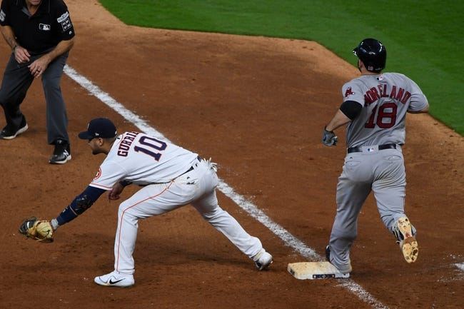 Houston Astros vs. Boston Red Sox ALDS Game 2 - 10/6/17 MLB Pick, Odds, and Prediction