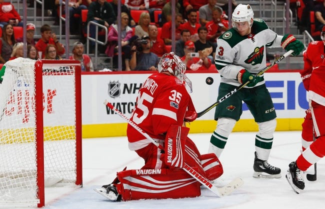 Minnesota Wild vs. Detroit Red Wings - 3/4/18 NHL Pick, Odds, and Prediction