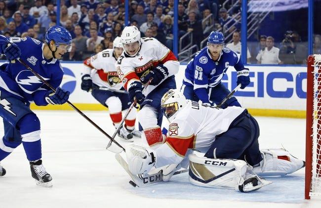 Florida Panthers vs. Tampa Bay Lightning - 10/7/17 NHL Pick, Odds, and Prediction