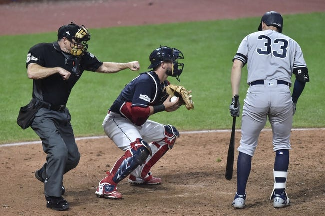 New York Yankees vs. Cleveland Indians ALDS Game 3 - 10/8/17 MLB Pick, Odds, and Prediction