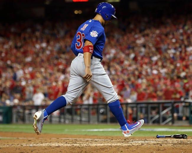 Chicago Cubs at Washington Nationals Game 3 - 10/7/17 MLB Pick, Odds, and Prediction