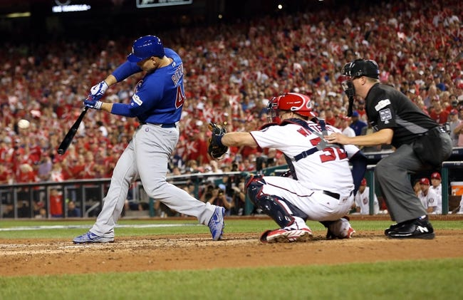 Washington Nationals vs. Chicago Cubs NLDS Game 2 - 10/7/17 MLB Pick, Odds, and Prediction