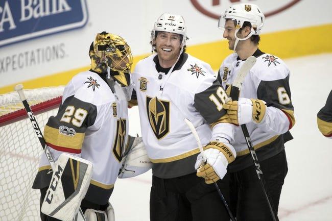 Las Vegas Golden Knights vs. Arizona Coyotes - 10/10/17 NHL Pick, Odds, and Prediction