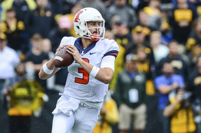 Illinois vs. Rutgers - 10/14/17 College Football Pick, Odds, and Prediction