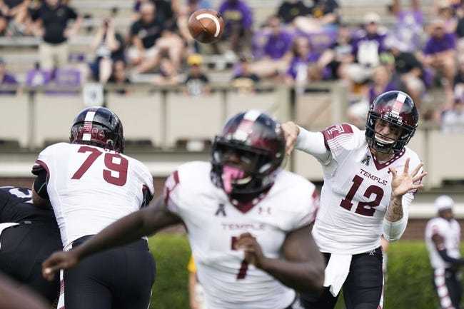 Temple vs. UCONN - 10/14/17 College Football Pick, Odds, and Prediction