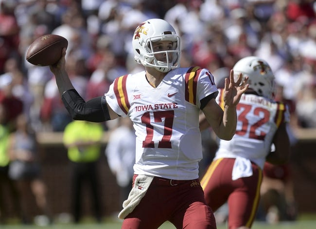Iowa State vs. Kansas - 10/14/17 College Football Pick, Odds, and Prediction