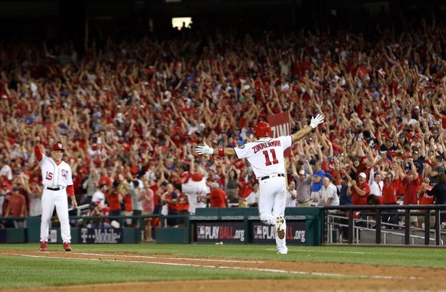 Washington Nationals at Chicago Cubs NLDS Game 3 - 10/9/17 MLB Pick, Odds, and Prediction