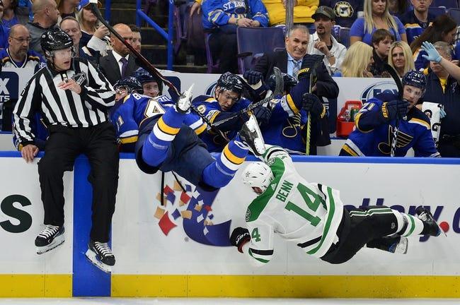 St. Louis Blues vs. Dallas Stars - 12/7/17 NHL Pick, Odds, and Prediction